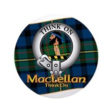 "MacLellan Clan 3.5"" Button"