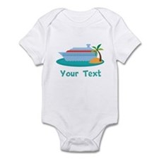 Personalized Cruise Ship Infant Bodysuit