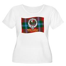 Maclaine of Lochbuie Clan Plus Size T-Shirt