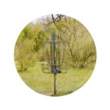 "Disc Golf Basket 7 3.5"" Button (100 pack)"