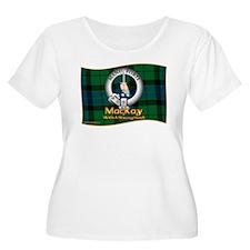 MacKay Clan Plus Size T-Shirt