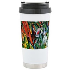 Franz Marc art: In the Rain Ceramic Travel Mug