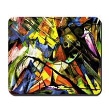 Franz Marc painting: Tyrol Mousepad