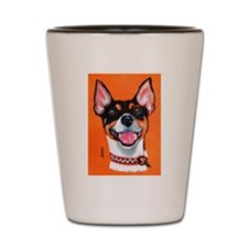 Rickie Roo by Terry Stanley Shot Glass