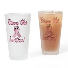 save the hoote Drinking Glass