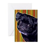 Pug Greeting Cards (Pk of 10)