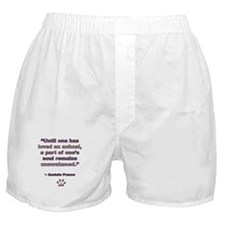 Anatole France Quote Boxer Shorts