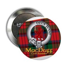 "MacDuff Clan 2.25"" Button"