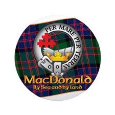 "MacDonald Clan 3.5"" Button"