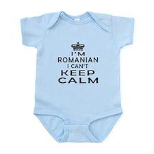 I Am Romanian I Can Not Keep Calm Onesie