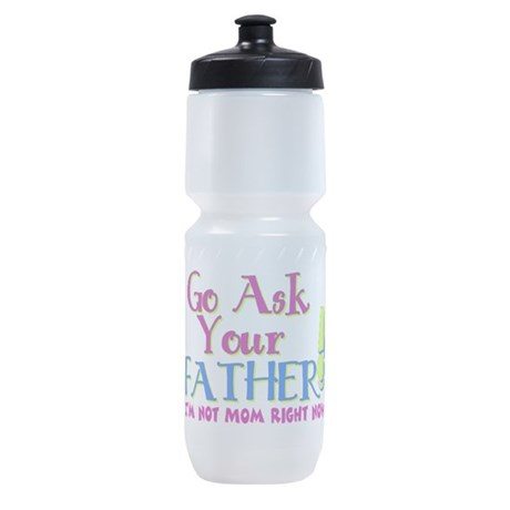 askyourfather.png Sports Bottle