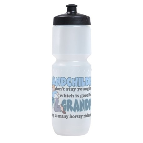 grandpahorsey.png Sports Bottle