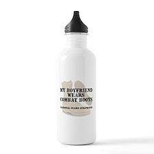 National Guard Girlfriend wears DCB Water Bottle