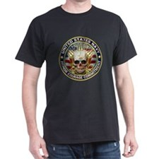 USN Navy Eagle Skull T-Shirt