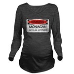 Attitude Monacan Long Sleeve Maternity T-Shirt