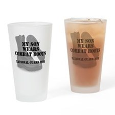 National Guard Mom Son wears CB Drinking Glass