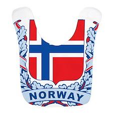 Stylish Norway Crest Bib