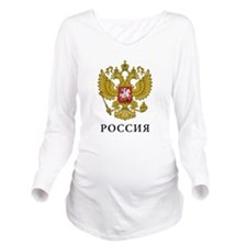 Classic Russia Long Sleeve Maternity T-Shirt