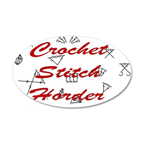 Crochet Stitch Horder Wall Decal