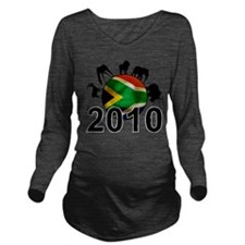 Cute 2010 world cup Long Sleeve Maternity T-Shirt