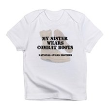 National Guard Brother Sister wears DCB Infant T-S