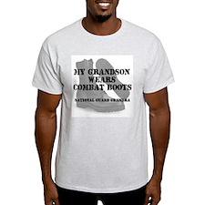 National Guard Grandma Grandson wears CB T-Shirt