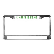 2-lostgreen License Plate Frame
