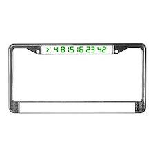 2-lostgreen License Plate Frame