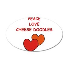 cheese doodle Wall Decal