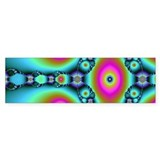 Groovy Fractal Art Bumper Car Sticker