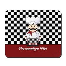 Personalized French Chef Mousepad