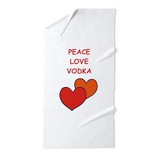 vodka Beach Towel
