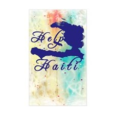 Help Haiti Decal
