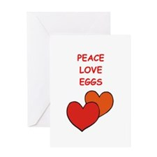 eggs Greeting Cards