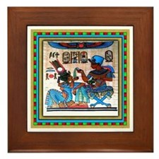 EGYPTIAN  Framed Tile #4