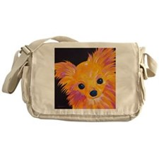 ChihuahuaSquare Messenger Bag