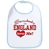 Somebody in England Loves Me Bib