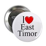 """I Love East Timor"" Button"