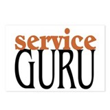 Service Guru Postcards (Package of 8)