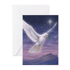 Peace love and jesus Greeting Cards (Pk of 20)