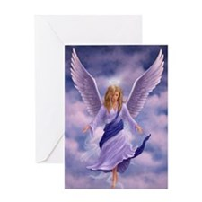 Unique Angel wings Greeting Card