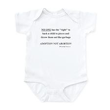 """Choice"" Isn't Infant Bodysuit"