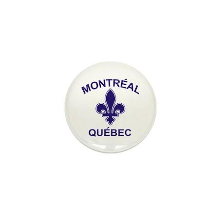 Montreal Quebec Mini Button