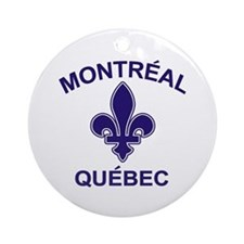 Montreal Quebec Ornament (Round)