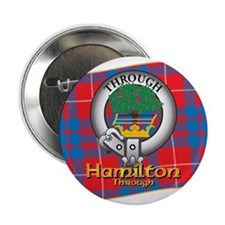 "Hamilton Clan 2.25"" Button"