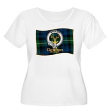 Gordon Clan Plus Size T-Shirt