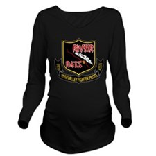 River Rats Long Sleeve Maternity T-Shirt