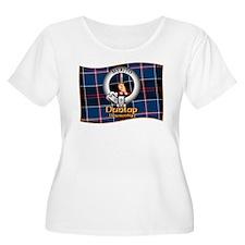 Dunlap Clan Plus Size T-Shirt