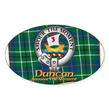 Duncan Clan Decal