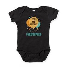 Personalized Birthday Balloon Party Baby Bodysuit